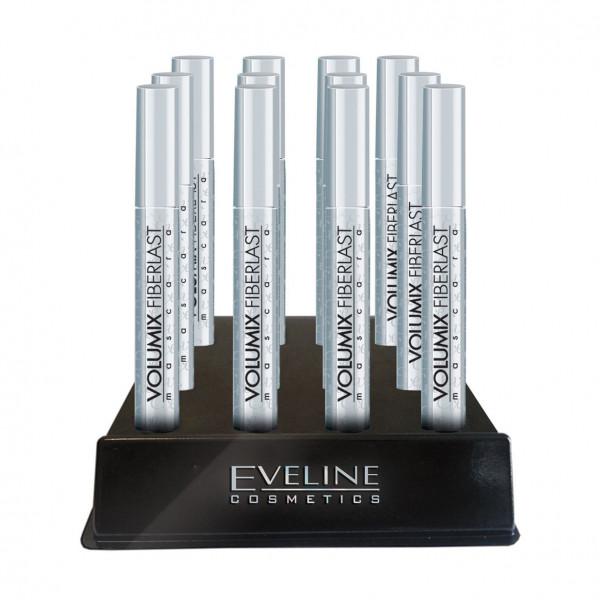 "Eveline - Mascara, ""Volumix Fiberlast"", Silber Bündel 12 St."