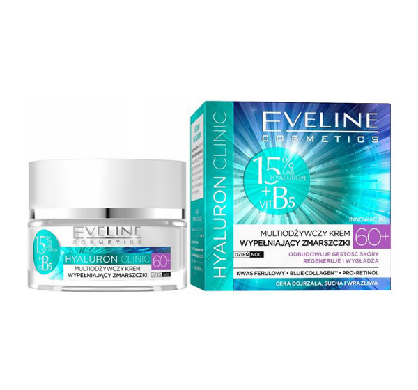 "Eveline - Gesichtscreme ""Hialuron Clinic"", 60+-"