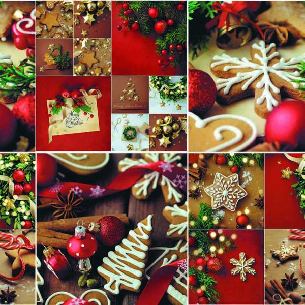 """Tischdecke, """"Weihnachten"""", AS-443, 20x1,4 m"""