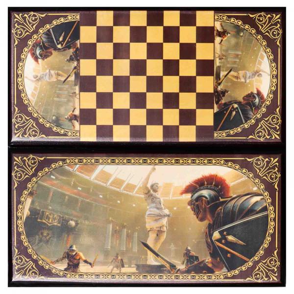 """Backgammon """"Gladiator"""", aus Holz, 600x300 mm"""