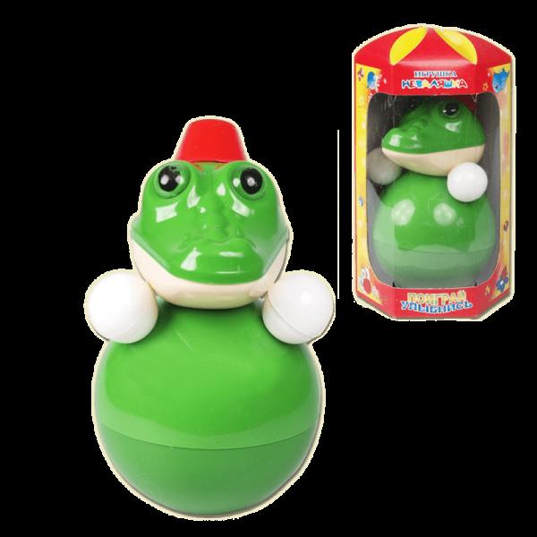 """Stehaufpuppe """"Krokodil"""", 15 cm"""