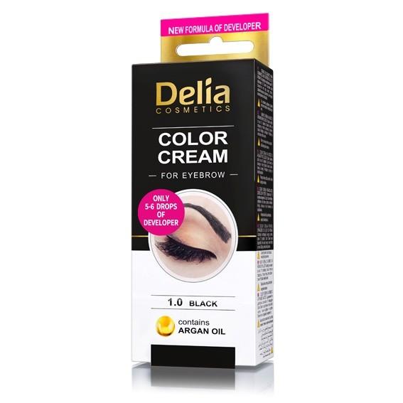 """Farbcreme für Augenbrauen """"Delia"""""""