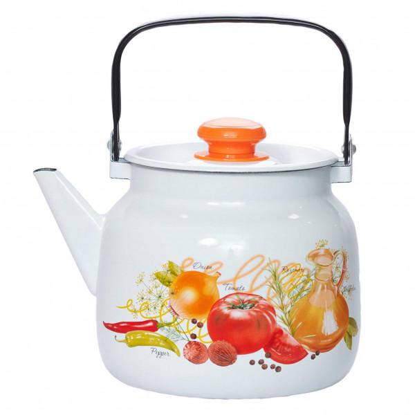 """Teekanne, emailliert, 3,5 L """"Italienische Küche"""""""