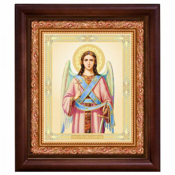 """Ikone mit Holzrahmen, """"Angel"""" 20x24 cm"""