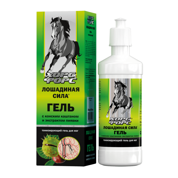 Horse Force - Fussgel, 500 ml