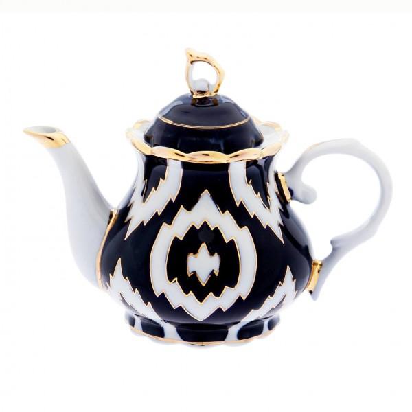 "Teekanne ""Atlas Gold"" aus Porzellan, 1000 ml"