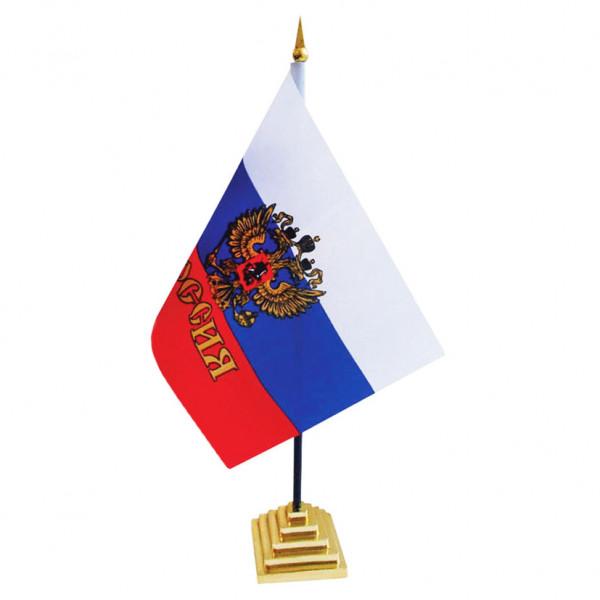 """Tischfahne """"Russland"""", 13 x 20 cm"""