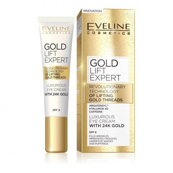 "Eveline - ""Gold Lift Expert"" Augencreme"