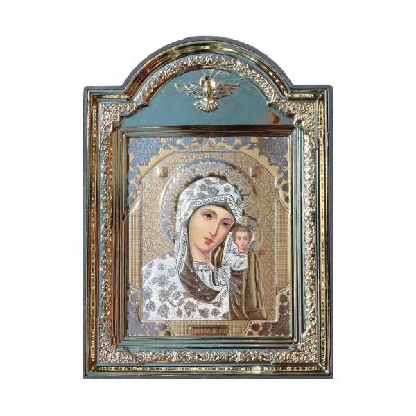 "Ikone (Kunststoff), ""Kasanskaja"", 10x12 cm"