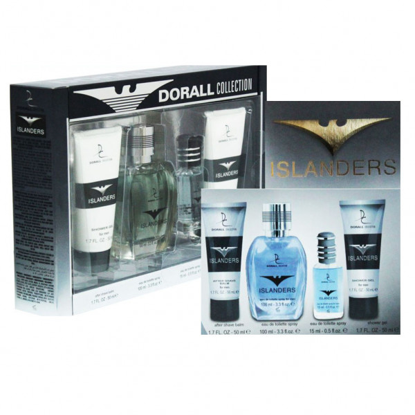"Parfum-Set für Herren ""Islanders"" ""Dorall Collection"" (4)"