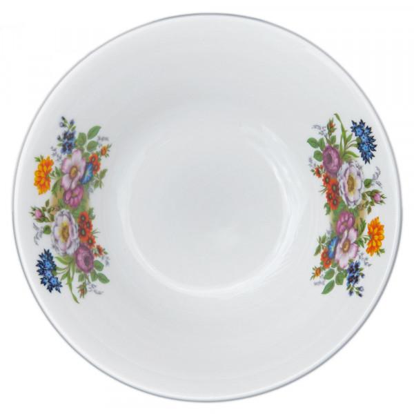 """Salatteller aus Porzellan 1150 ml """"Nostalgie"""" - """"Blumenwiese"""""""