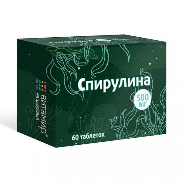 """Vitamir - """"Spirulina"""", 60 Tabl."""