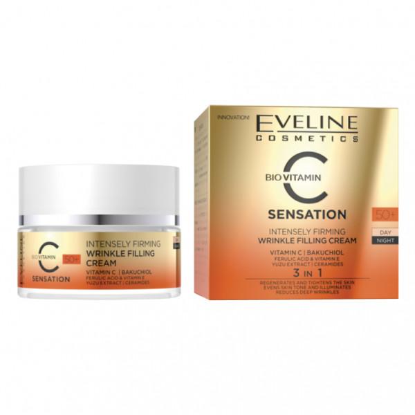 """Eveline - """"Sensation C"""", Gesichtscreme, 50+"""