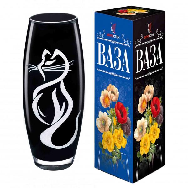"""Vase """"Flora"""", """"Katze"""", H 26 cm"""