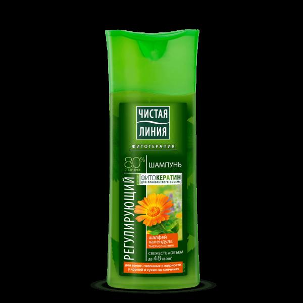 """Saubere Linie - Shampoo """"Für fettiges Haar"""", 250 ml"""