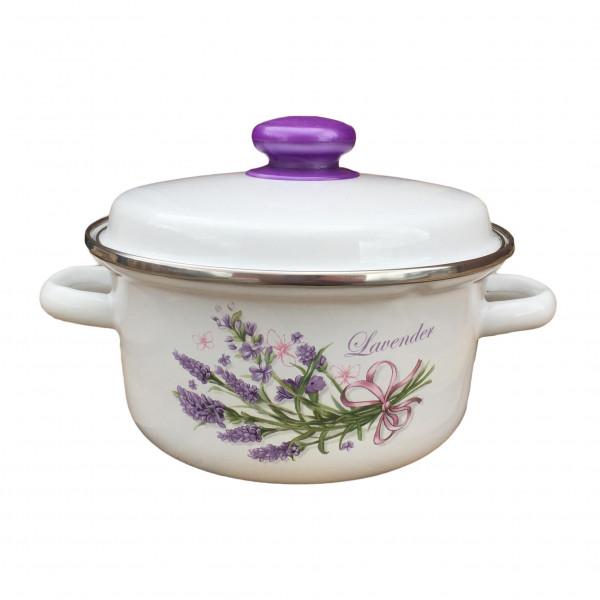 "Topf, emailliert ""Lavendel"", 2,0 L"