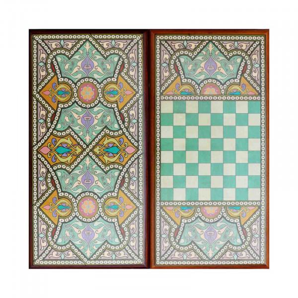 """Backgammon """"Orientalisch"""", aus Holz, 400x200 mm"""