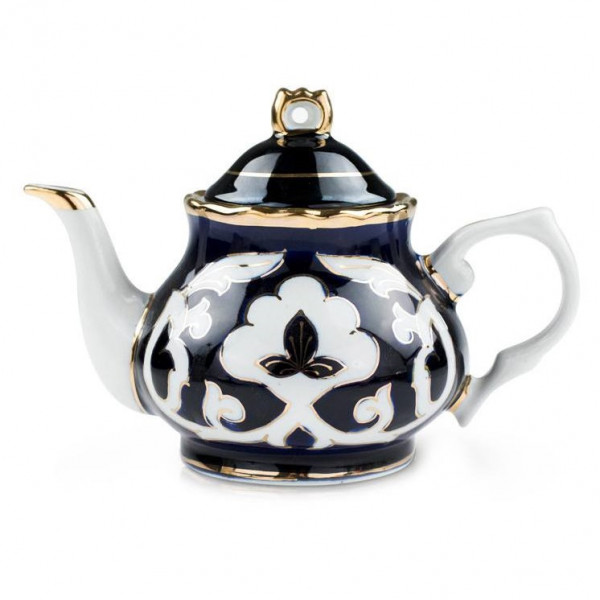 "Teekanne ""Pachta Gold"" aus Porzellan, 800 ml"
