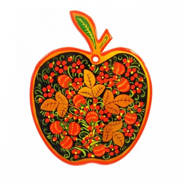 """Deko-Schneidebrett """"Hochloma"""" Apfel, 28 cm"""