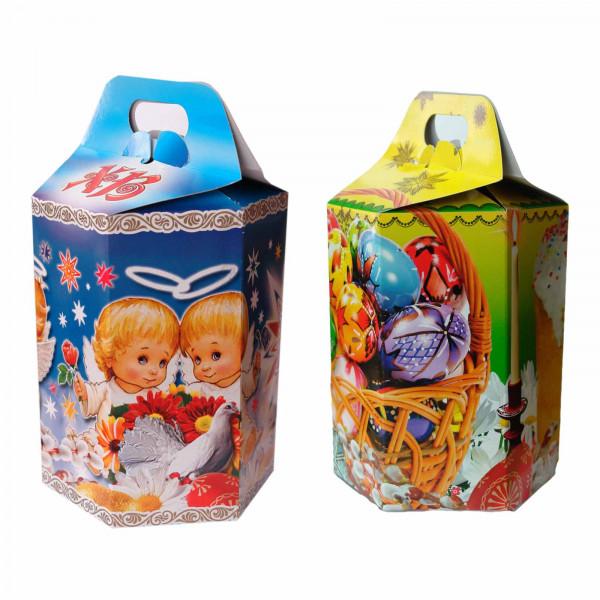 Geschenkbox für Osterkuchen 17x15 cm