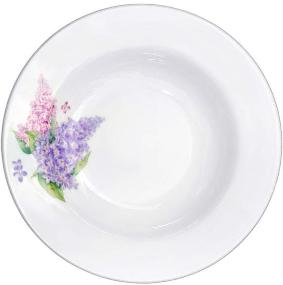 """Salatteller aus Porzellan 1150 ml """"Nostalgie"""" - """"Fliede"""""""