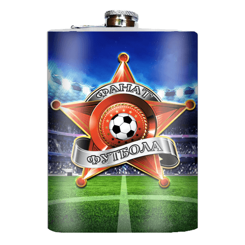 "Flachmann ""Fußballfan"", 270 ml"