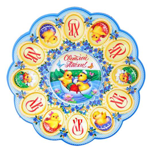 """Tablett für 12 Ostereier """"Hühner"""""""