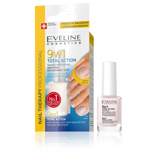 "Eveline - Nagelpflege professionelle ""Total action"" 9 in 1"