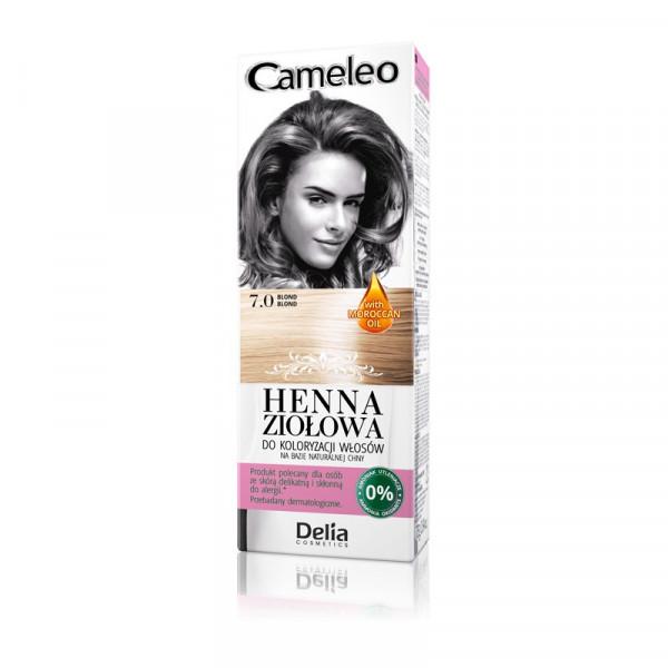 """Cameleo"" Henna Creme, 7.0 Blond"