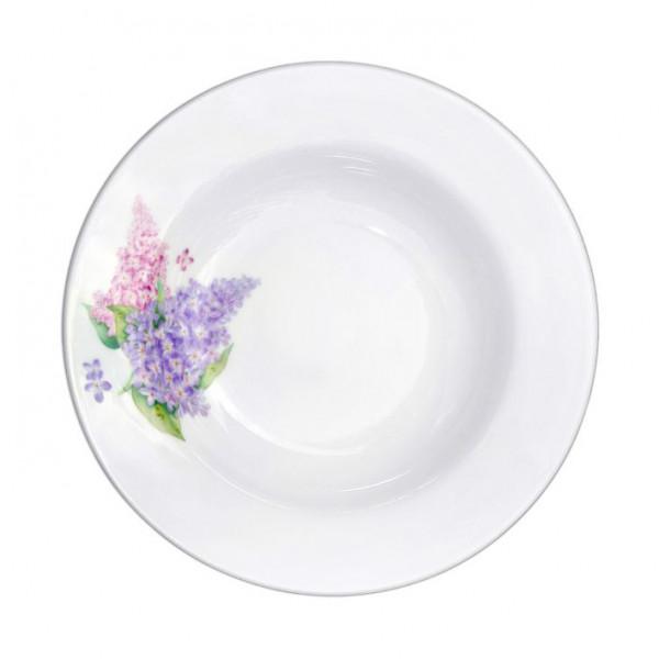 """Salatteller aus Porzellan 360 ml """"Nostalgie"""" - """"Fliede"""""""