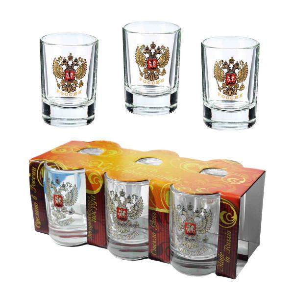 "Wodkagläser set aus 6 St., 50 ml ""Gus Chrustalnyj"""