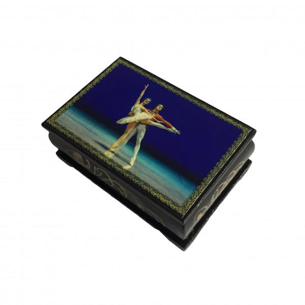 """Souvenir Schatulle """"Ballette"""", 9x6x3,5 cm"""