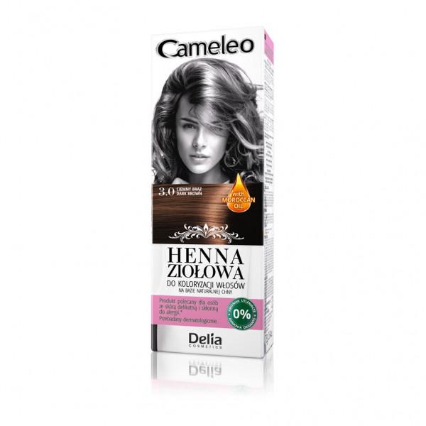 """Cameleo"" Henna Creme, 3.0 Dunkel Braun"