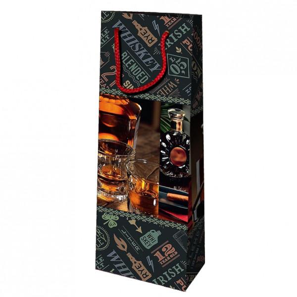 """Geschenktasche für Whiskey/Cognac """"Whiskey"""", 36x13 cm"""
