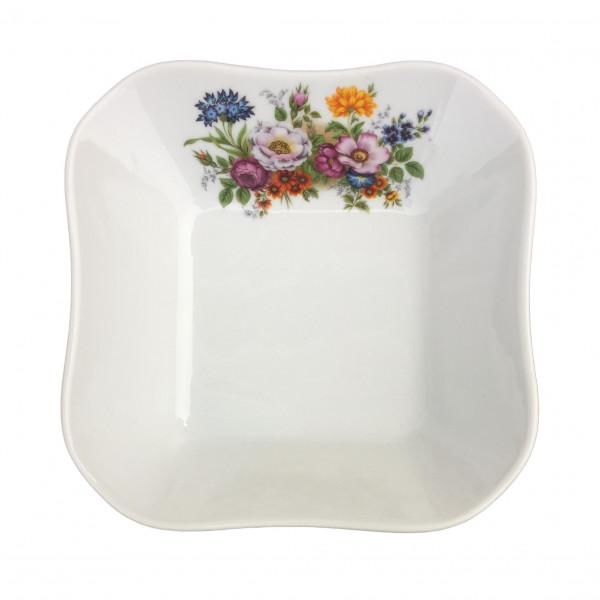 """Salatteller aus Porzellan 450 ml """"Nostalgie"""" - """"Blumenwiese"""""""