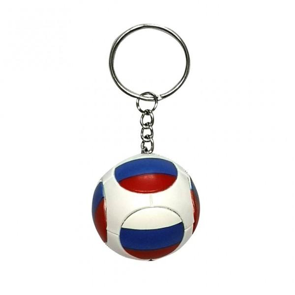 "Schlüsselanhänger ""Fussball"", ""Flagge Russland"", plastik"