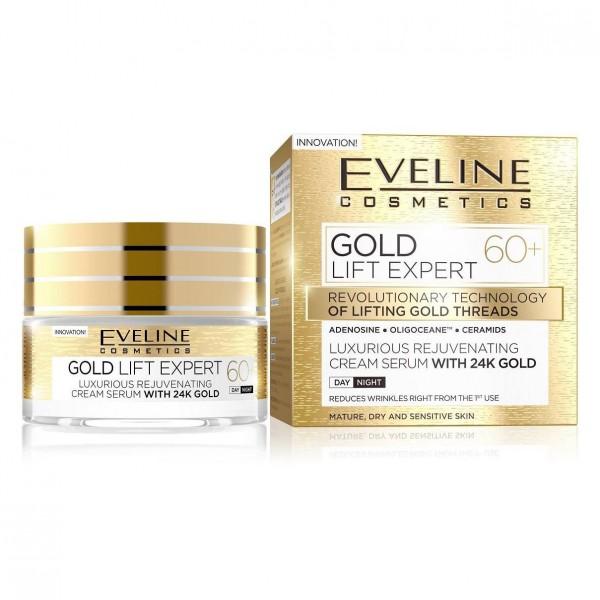 "Eveline - ""Gold Lift Expert"" Gesichtscreme, 60+"