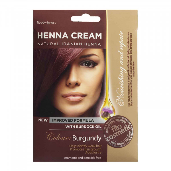 """Fito Cosmetic"" - Henna Cream, Burgundy"