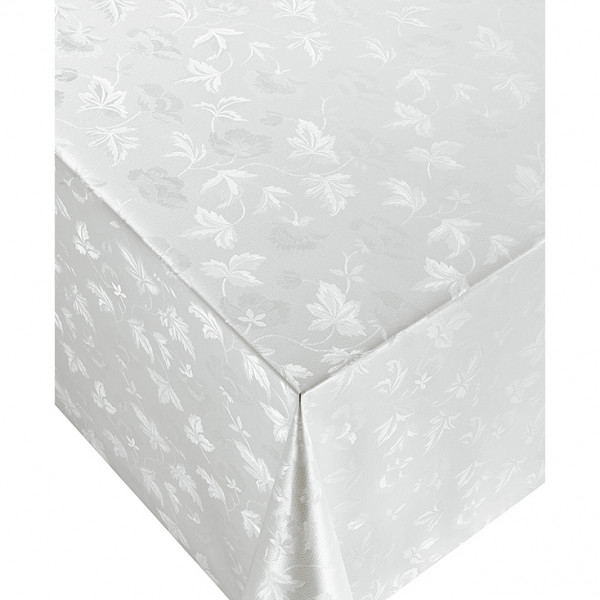 Tischdecke D, Weiß, 20x1,4 m