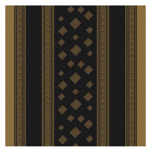 Tischdecke M, Griechenland (Schwarz), 20x1,4