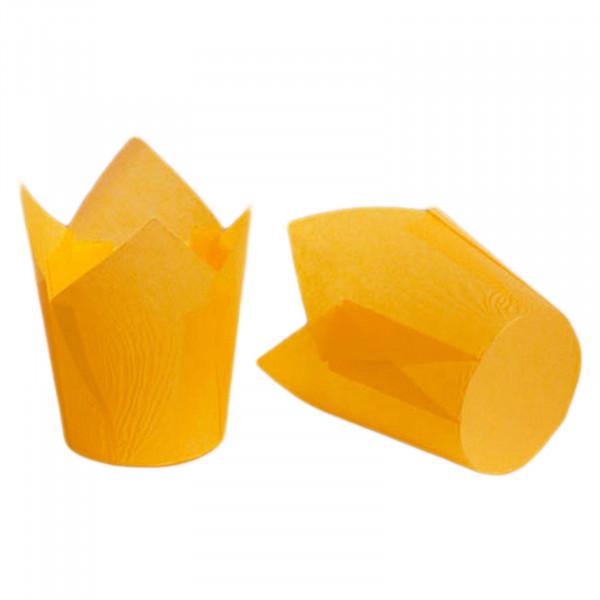 "Backform ""Tulpen"", Orange, 50x55/80 mm, Set - 100 St."
