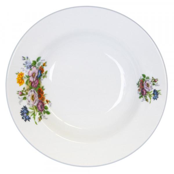 """Suppenteller aus Porzellan 20 cm """"Nostalgie"""" - """"Blumenwiese"""""""