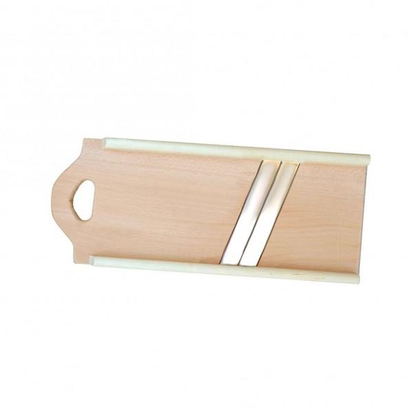 Reibe (Holz) für Kraut, 2 Klingen