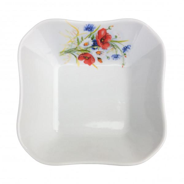 """Salatteller aus Porzellan 450 ml """"Nostalgie"""" - """"Sommerwiese"""""""