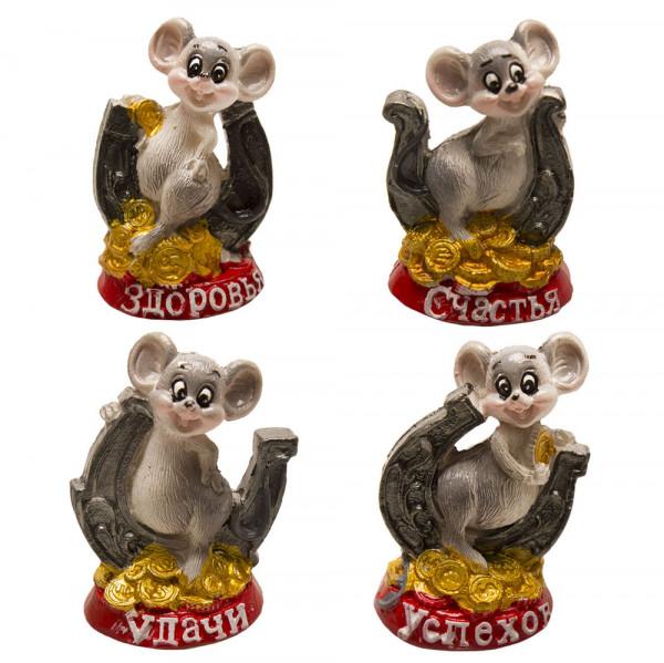 """Keramikfigur """"Maus"""", 5-6 cm"""