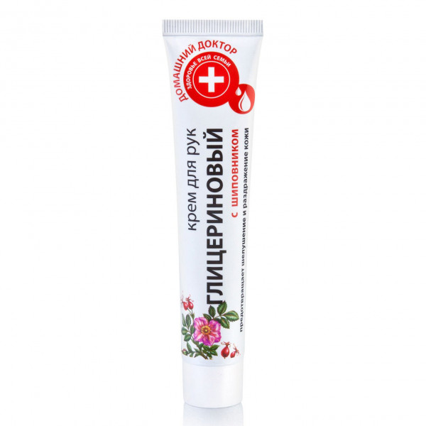 """Domaschnij Doktor"" Handcreme, ""Glycerincreme mit Hagebutte"", 42 ml"