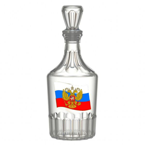 """Karaffe Caesar, 500 ml, """"Flagge von Russland"""""""