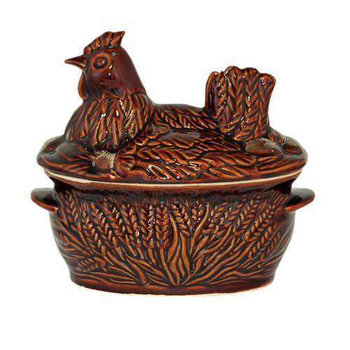 """Backtopf Keramik, """"Huhn"""", 2,5 l"""