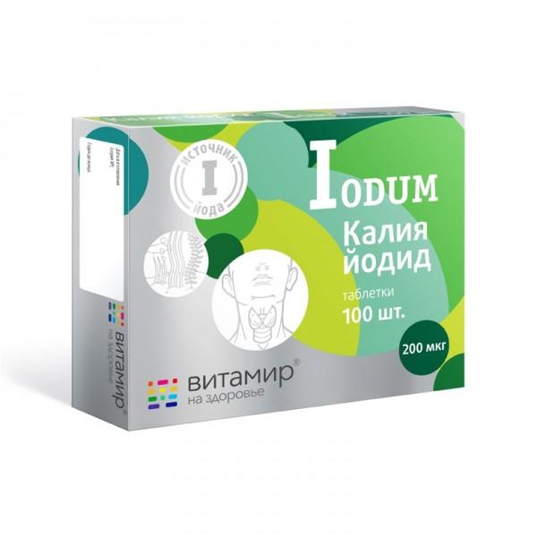 """Vitamir - """"Kalium Iodum"""", 100 Tabl."""