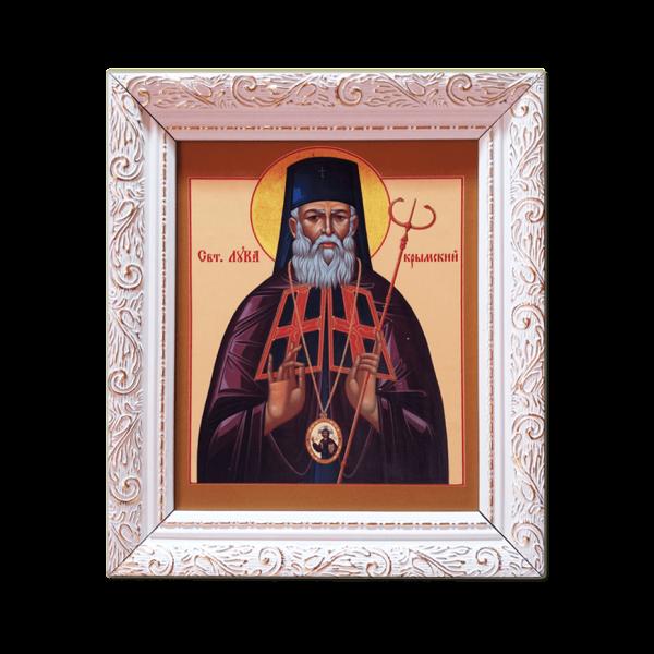 "Ikone mit Rahmen ""St. Luka"""